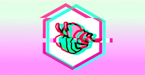 glitched scuttlebutt logo